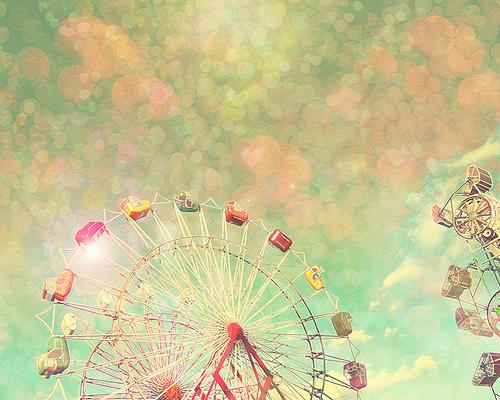 Happy ferris wheel