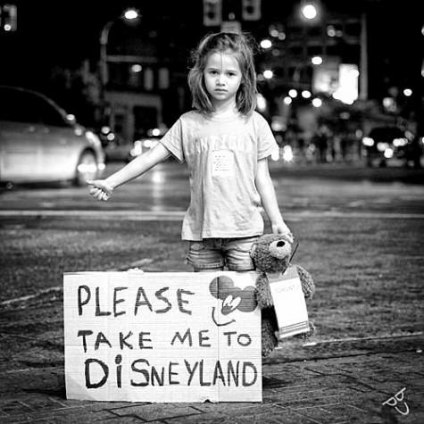 Take me to disneyland